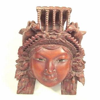 Asain Wood Carving Woman With Bird Headdress Asain Wood Carving Woman With Bird Headdress,Find out
