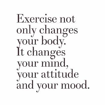 Exercise has many health benefits including improved health markers, better flexibility, more stren