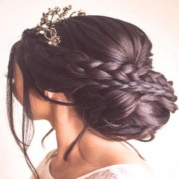 Headdress Jewelry Crown Braids ❤ Wise brides know that they...,  crown Braids brides Headdress Je