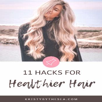 Healthy hair hacks every girl should know. For curly, frizzy, thin, oily, or short hair.. these tip