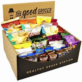Healthy Snack Station (70 Count) by The Good Grocer - Office