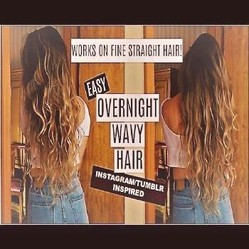 Heatless Wavy Hair | HOW TO GET TUMBLR HAIR - YouTube