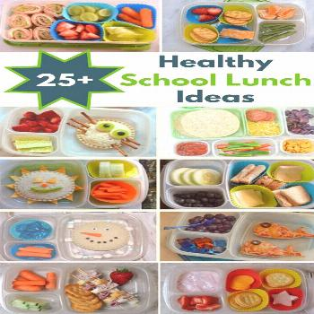 Kids will never get bored with these healthy school lunch ideas. Make these lunch box ideas on Sund