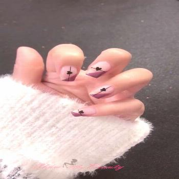 Valentine's Day Heart Shaped nail Designs
