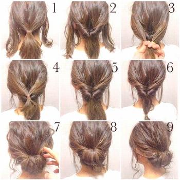 We have rounded up these top messy updo tutorials for you that are good to go for short, medium and